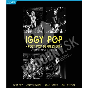 Iggy Pop - Post Pop Depression Live At Royal Albert Hall (Bluray) od 21,89 €