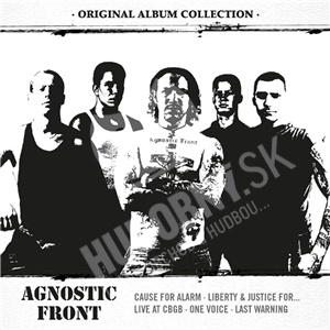 Agnostic Front - Original Album Collection: Discovering AGNOSTIC FRONT (Limited 5CD Edition) od 25,59 €