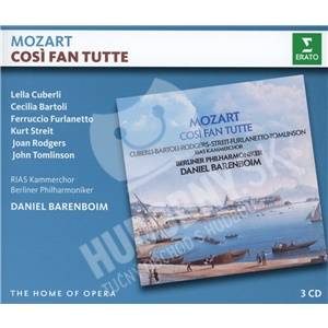 D. Barenboim,  C. Bartoli,  L. Cuberli, J. Tomlinson, Wolfgang Amadeus Mozart - Mozart: Cosi Fan Tutte (3CD) od 19,98 €