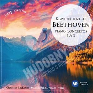 Christian Zacharias, Hans Vonk, Ludwig van Beethoven - Klavierkonzerte 1 & 3 od 4,49 €