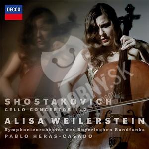 Pablo Heras-Casado, Alisa Weilerstein, SOBR, Dmitri Schostakowitsch - Shostakovich Cello Concertos 1 & 2 od 17,39 €