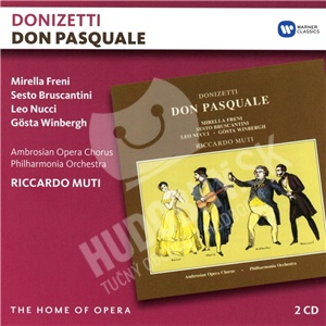Riccardo Muti, Mirella Freni, Gösta Winbergh, Gaetano Donizetti - Don Pasquale (2CD) od 16,39 €