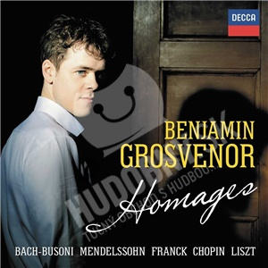 Benjamin Grosvenor, Mendelssohn , Chopin, Liszt, Bach, Busoni - Homages od 17,39 €