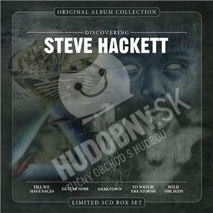 Steve Hackett - Original Album Collection: Discovering Steve Hackett (Limited 5CD Edition) od 25,99 €