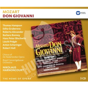 N. Harnoncourt, T. Hampson, E. Gruberova, - Mozart: Don Giovanni (3CD) od 20,69 €