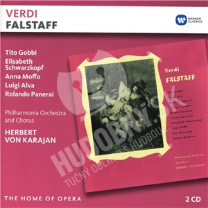 Herbert von Karajan, Tito Gobbi,  E. Schwarzkopf ,  Giuseppe Verdi, - Falstaff  (2CD) od 16,29 €