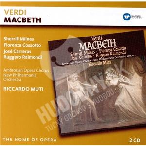 Riccardo Muti,  F. Cossotto, S. Milnes, J. Carreras, Giuseppe Verdi - Giuseppe Verdi: Macbeth (2CD) od 16,29 €