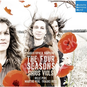The Sirius Viols, Christopher Simpson, - Simpson: The Four Seasons od 13,69 €