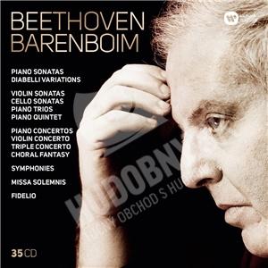 Daniel Barenboim - Complete beethowen: Beethoven Barenboim (35CD) od 67,99 €