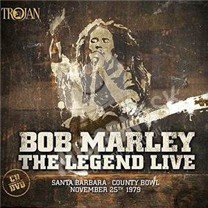 Bob Marley  & The Wailers - The legend live - Santa Barbara County Bowl: November 25th 1979 (CD+DVD) od 13,99 €
