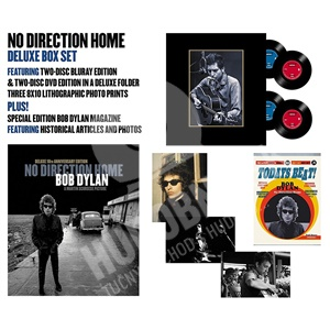 Bob Dylan - No Direction Home: Bob Dylan 10th Anniversary Edtition (Limited Deluxe DVD+Bluray) od 62,99 €