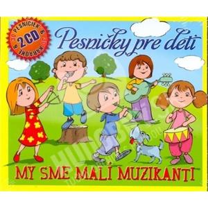 Pesničky pre deti - My sme malí muzikanti (2CD) od 9,49 €