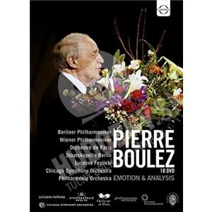 Pierre Boulez, Berliner Philharmoniker - Emotion & Analysis - 1974-2009 (10DVD) od 39,29 €