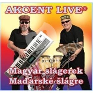 Akcent Live - Magyar slagerek/Maďarské šlágre od 7,59 €