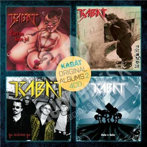 Kabát - Original albums 4CD vol. 2 od 15,49 €