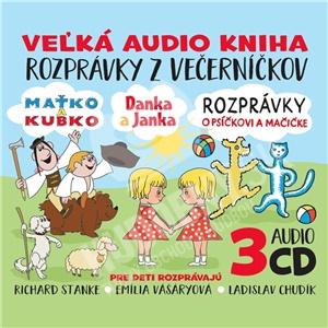 Rozprávky - Rozprávky z večerníčkov 3CD BOX od 9,69 €