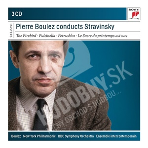 Pierre Boulez Conducts Stravinsky (3CD)