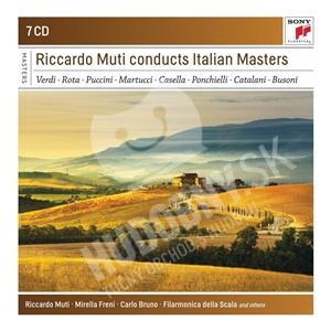 Riccardo Muti - Riccardo Muti Conducts Italian Masters (7CD) od 23,99 €