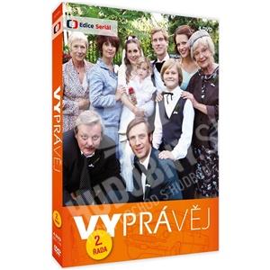 VAR - Vyprávěj 2. řada (reedice 4x DVD) od 17,69 €