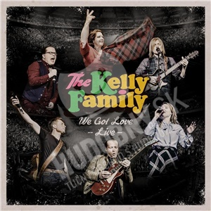 Kelly Family - We Got Love – Live (2CD+DVD) od 25,99 €