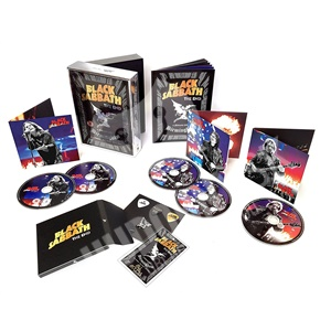Black Sabbath - The End (Live in Birmingham - Limited Super Deluxe 3CD + DVD + Bluray Edition) od 149,99 €