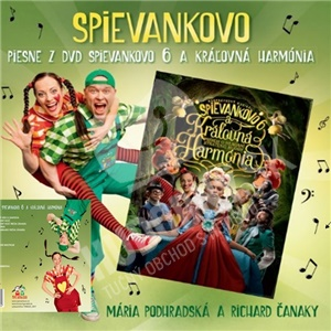 Podhradská & Čanaky - Piesne z DVD Spievankovo 6 a kráľovná Harmónia od 9,69 €