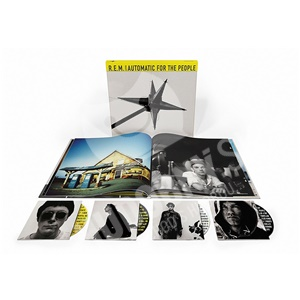 R.E.M. - Automatic for the People (25th Anniversary Limited 3CD+BluRay Boxset) od 105,99 €