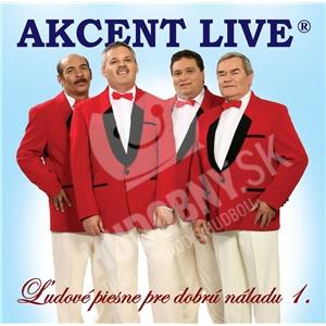 Akcent - Ľudové piesne pre dobrú náladu 1 od 0 €