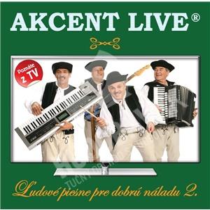 Akcent - Ľudové piesne pre dobrú náladu 2 od 7,59 €
