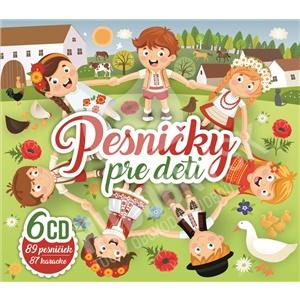 VAR - Pesničky pre deti 6CD BOX od 14,79 €