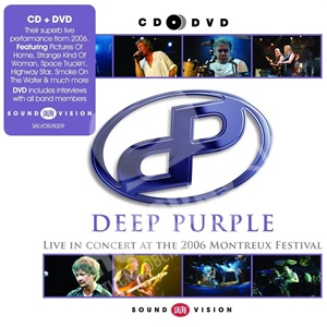 Deep Purple - Live at Montreux 2006 (CD+DVD) od 19,99 €