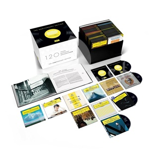VAR, Karajan, Netrebko, Mutter, Beethowen, Mozart, Wagner - Klasika - DG 120 – The Anniversary Edition(122CD) od 309,99 €