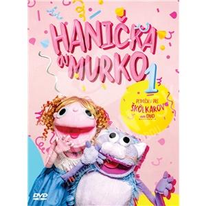 Hanička a Murko - Pesničky pre škôlkarov na DVD od 9,89 €