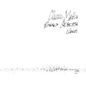 Ronald Šebesta - Classics Malts (Ronald Šebesta - clarinet) od 10,59 €