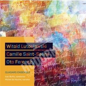W. Lutosławski, C. Saint-Saëns, O. Ferenczy - Quasars Ensemble od 12,59 €