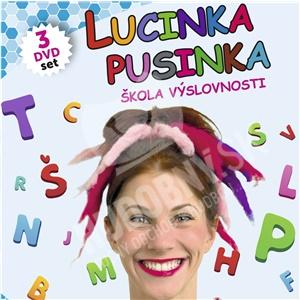 Lucinka Pusinka - Škola výslovnosti 1, 2, 3 (3 DVD SET) od 28,99 €