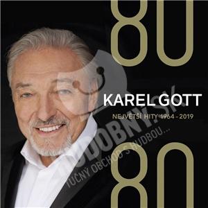 Karel Gott - 80/ 80 Největší hity 1964–2019 (4CD) od 17,98 €