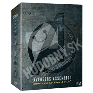 VAR - Avengers kolekcia 1.-4. (4DVD) od 49,99 €