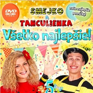 Smejko a Tanculienka - Všetko najlepšie! (DVD) od 12,89 €