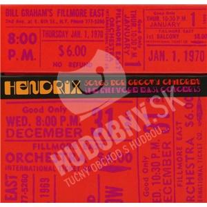 Jimi Hendrix - Songs for Groovy Children: the Fillmore East Concert (5CD) od 45,99 €