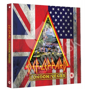Def Leppard - London to Vegas (Deluxe 2x Bluray + 4CD) od 59,89 €