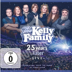 The Kelly Family - 25 Years Later - Live (Deluxe Edition 2CD+2DVD) od 25,89 €