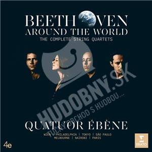 Quatuor Ébene - Beethoven Around the World-Compl.String Quartets (7CD) od 48,99 €