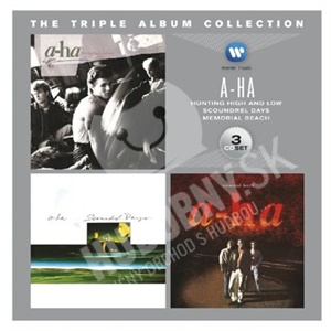 A-HA - The Triple Album Collection (3 CD) od 10,99 €