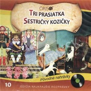 Rozprávky - Tri prasiatka + Sestričky Kozičky od 5,99 €