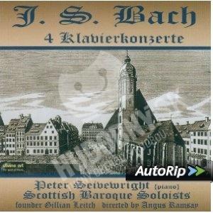 Johann Sebastian Bach - 4 Klavierkonzerte od 7,01 €