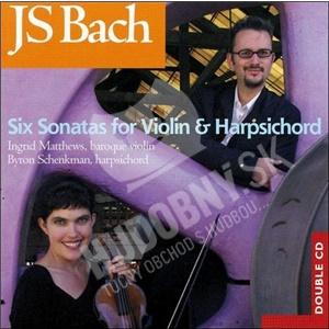 Johann Sebastian Bach - Six Sonatas for Violin & Harpsichord od 10,99 €