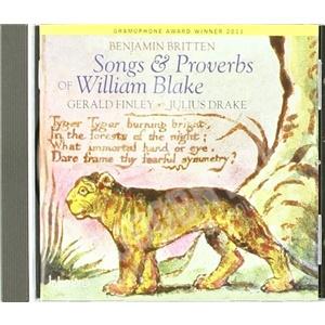 Benjamin Britten - Songs & Proverbs of William Blake od 8,67 €