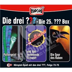 Die drei ??? - 25: 3er Box Folgen 73-75 od 22,38 €
