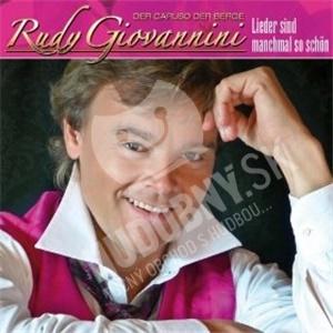 Rudy Giovannini - Lieder sind manchmal so schön od 19,48 €